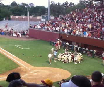 FSU Seminoles Baseball 2012 Regional Champions