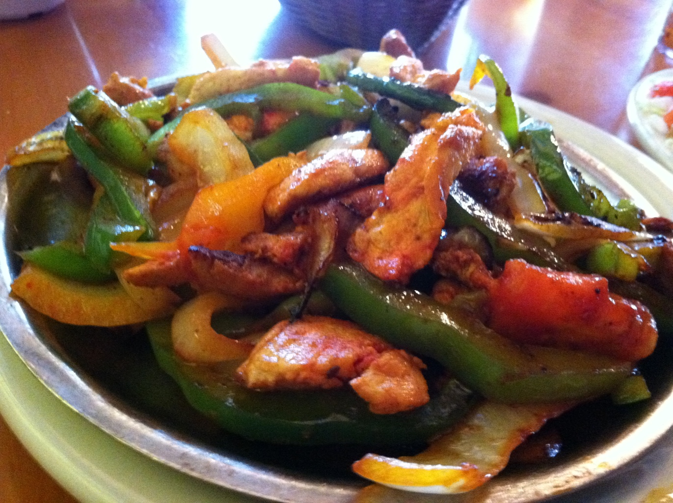 Chicken Fajitas From La Fiesta in Tallahassee, FL