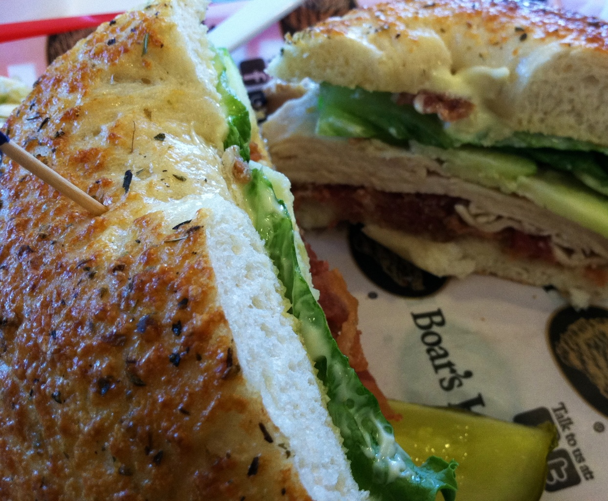 Bagelheads - Johnni Appleseed bagel sandwich