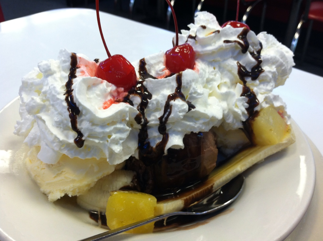 Wayne's Family Diner - Banana Split