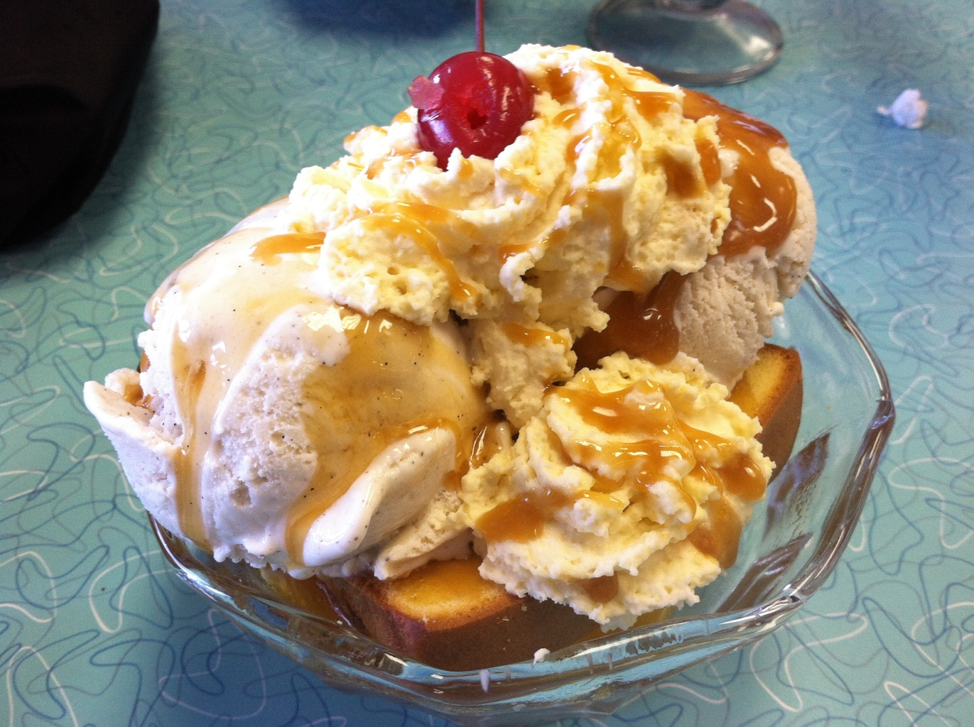 Toasted Poundcake Sundae at Lofty Pursuits