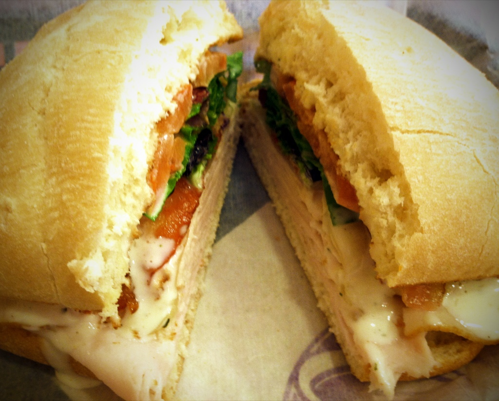 Turkey Bacon Ranch Sandwich at Tropical Smoothie Cafe