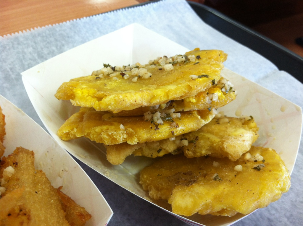 Tostones at The Cuban Grill in Tallahassee, FL