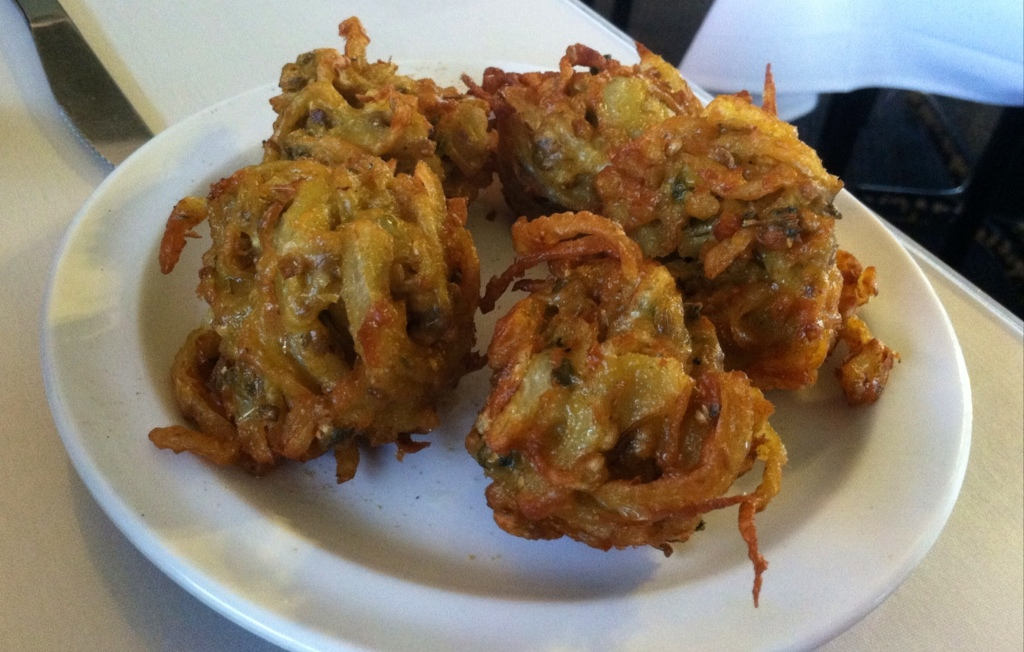 Onion Bhujia (Onion Fritter)