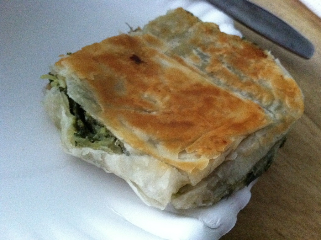 Captain Pete's House of Gyros - Spanakopita