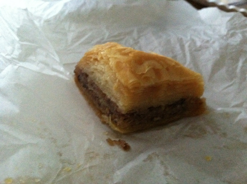 Captain Pete's House of Gyros - Baklava