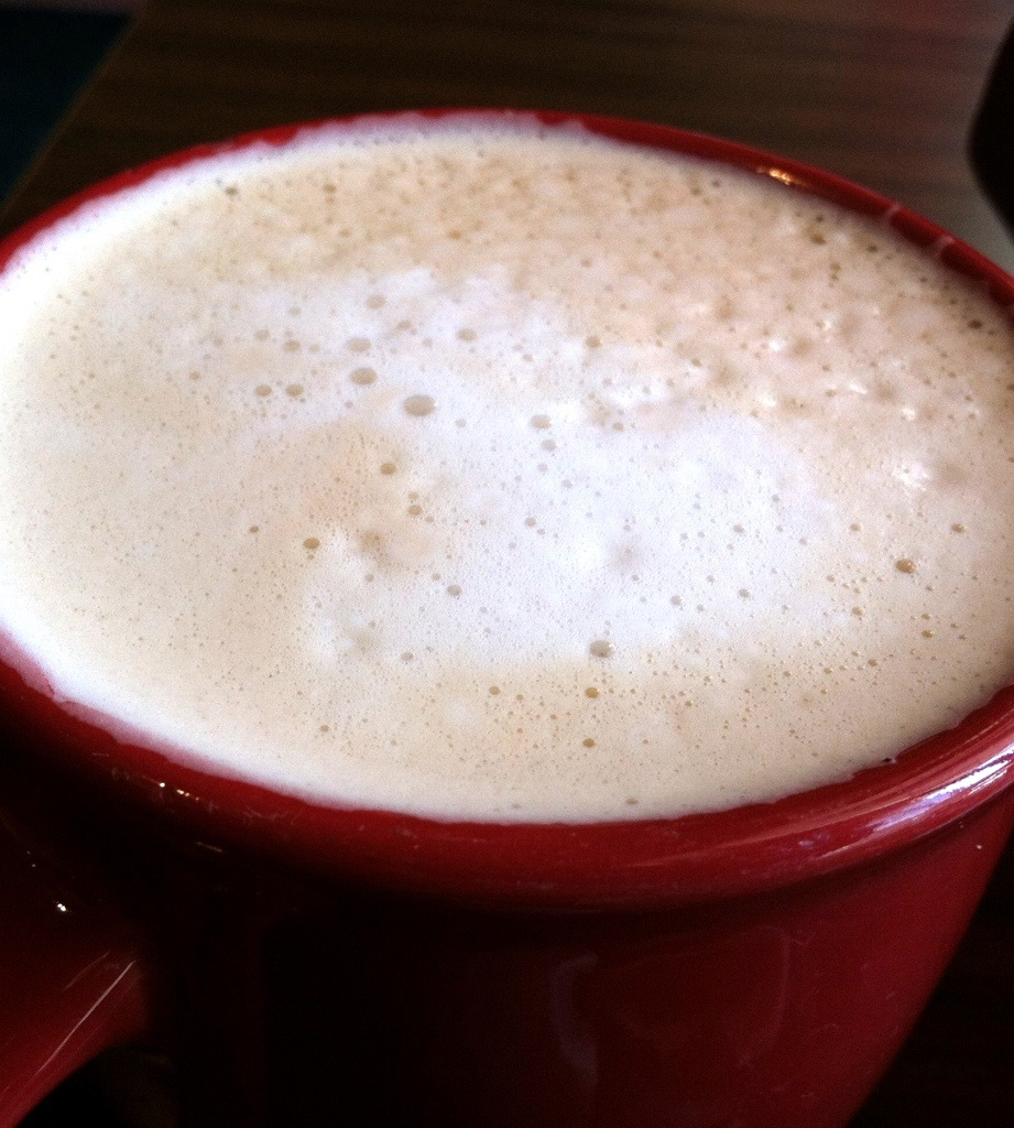 Pumpkin Spice Latte at The Bada Bean