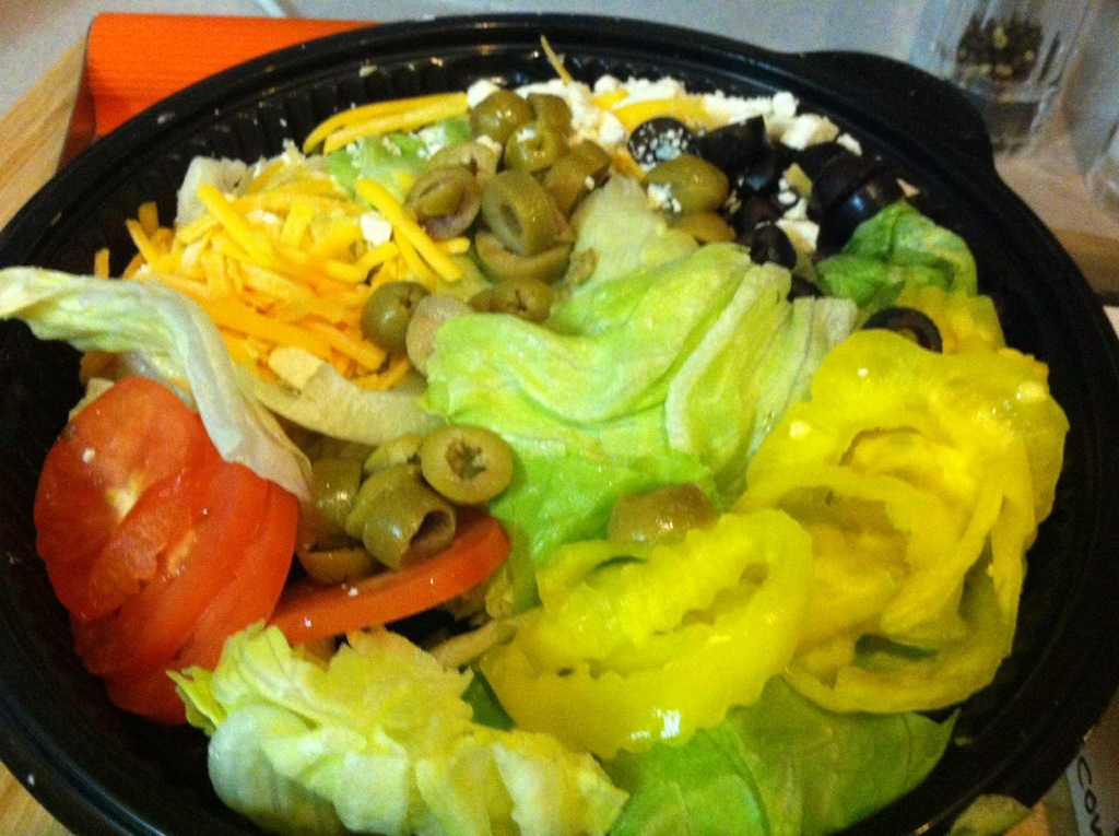 Salad at Marco's Pizza