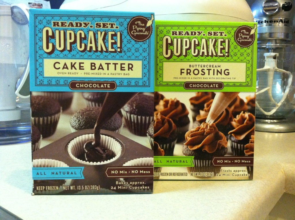 Ready. Set. Cupcake! Batter and Frosting